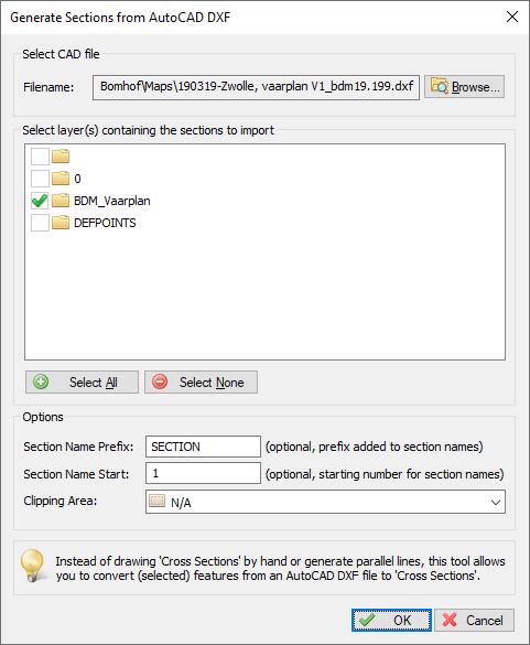 Import layer settings autocad settings
