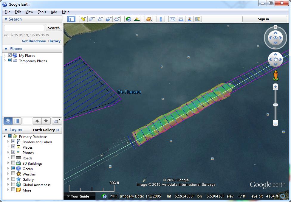 Export to Google Earth KML/KMZ files - Eye4Software