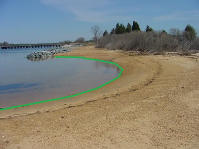 Drawing a Shoreline