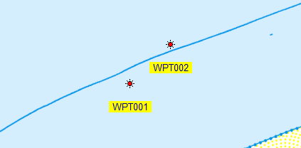 Projected Waypoint
